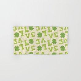 St. Patricks Day Pattern Hand & Bath Towel