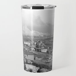 Old time Godzilla vs King Kong Reprised Travel Mug