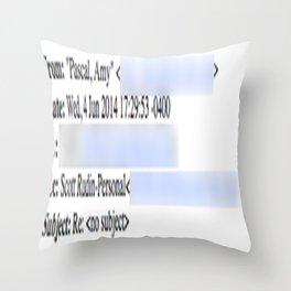 Beyond Belief Throw Pillow