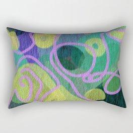 Mapless Travels Rectangular Pillow