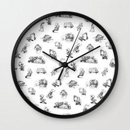 Machines Wall Clock