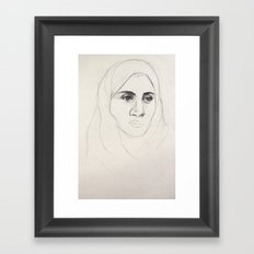 Abrar Framed Art Print