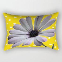 Collage de Flor y diseño Rectangular Pillow