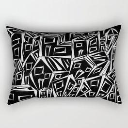 Small City Rectangular Pillow