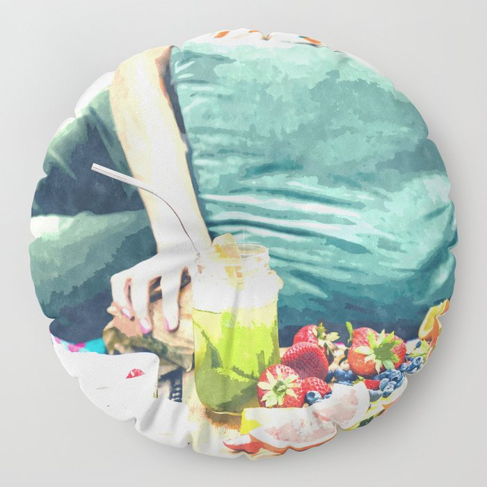 Picnic Day Floor Pillow