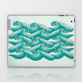 Ocean Vibes Laptop & iPad Skin