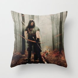 Robin Hood / Prince of Thieves Throw Pillow