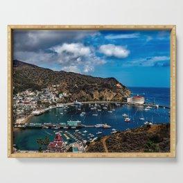 Santa Catalina Island, California color photograph / photography / photographs Serving Tray
