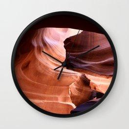 Nature's Abstract Wall Clock