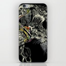 Darlings & Dragons from Matter to Fantasy iPhone Skin