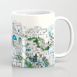 Santorini Oia Coffee Mug