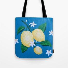 Lemon Blossom Tote Bag