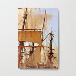 FULL STEAM AHEAD Metal Print