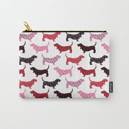 Lovely Bassets Carry-All Pouch