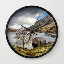 Lake Ogwen Snowdonia Wall Clock