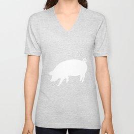 Pig - Graphic Fashion Unisex V-Neck