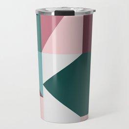 Modern Geometric 62 Travel Mug