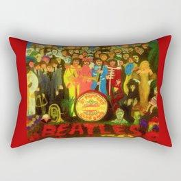 SGT PEPPER Rectangular Pillow