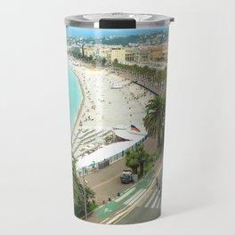 Promenade des Anglais, Nice, France Travel Mug
