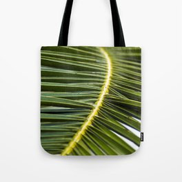Green Palm-Leafes of Sicily Tote Bag