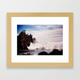 Bird's-Eye View Framed Art Print