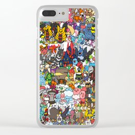 pokeman Clear iPhone Case