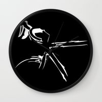 bike Wall Clocks featuring Bike by Pedlin