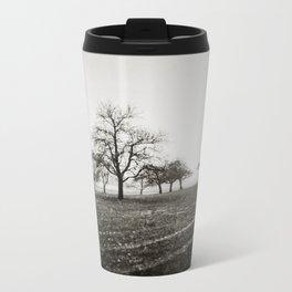 { skeleton trees } Metal Travel Mug