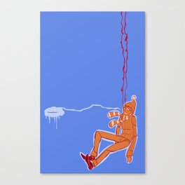 SLIPPED Canvas Print
