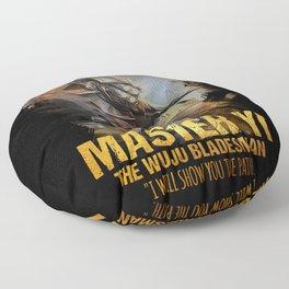 League of Legends MASTER YI - The Wuju Bladesman - video games champion Floor Pillow