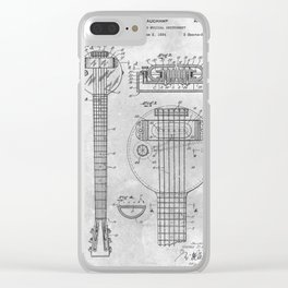 Electrical stringed Clear iPhone Case