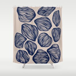 Organic Shapes 1 Shower Curtain