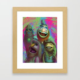 Muppet Maniac - Electric Mayhem as the Firefly Family Framed Art Print