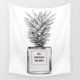 Always be a Fine Apple Wall Tapestry