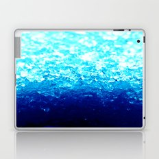 Turquoise CrySTALS Laptop & iPad Skin