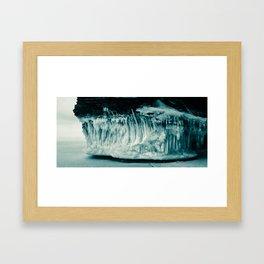Ice Caves - Wisconsin Framed Art Print