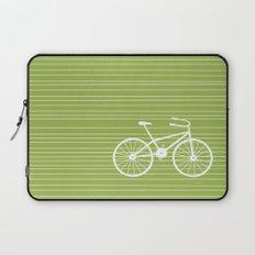 Green Bike Laptop Sleeve