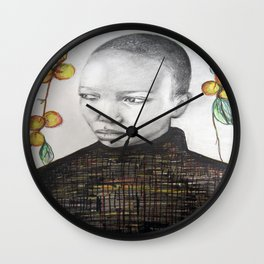 pêche Wall Clock