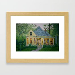 Tree of Life House Humble Comforts Framed Art Print