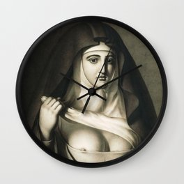 The Awful Disclosures of Maria Monk Wall Clock