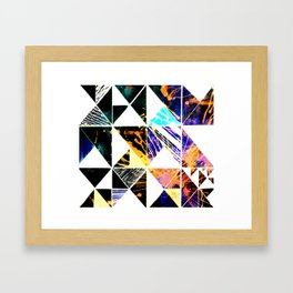 ABSTRACT triangle Framed Art Print