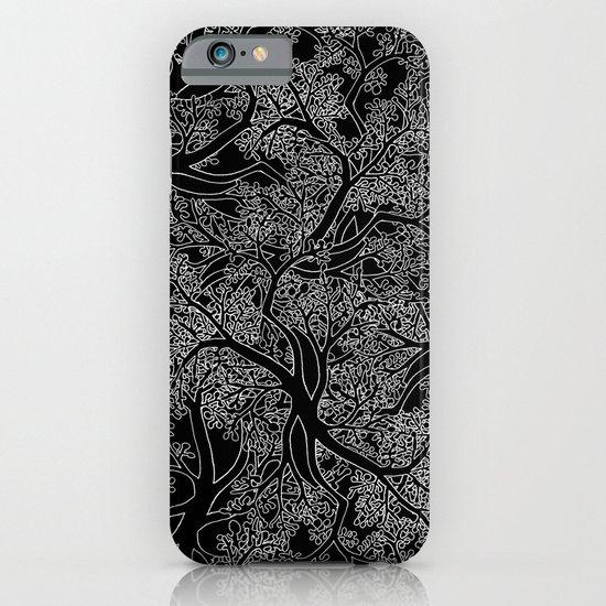 Tree Repeat Black iPhone & iPod Case