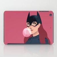 batgirl iPad Cases featuring Batgirl  by Fleur Sciortino