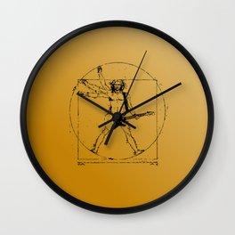 leonardo guitar Wall Clock