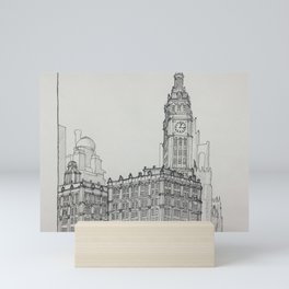 Chicago - Wrigley Building Mini Art Print
