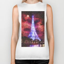 Paris Night Biker Tank