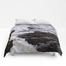 Lowell Tannery Hydro Dam Spring Rush Comforters