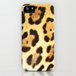 Piel de Jaguar iPhone Case