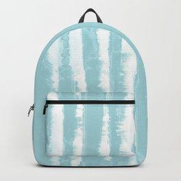 Shibori Stripe Seafoam Backpack