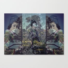 Once Upon A Time in Tokyo V Canvas Print